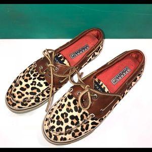Leopard Print Sperry Topsider